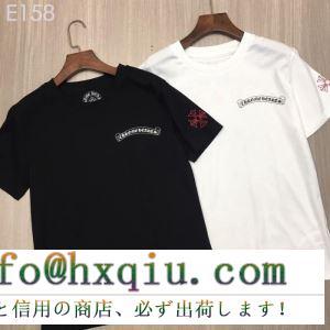 クロムハーツ chrome hearts 半袖tシャツ 2色可選 男女兼用 2019年春の新作コレクション 魅力が光る