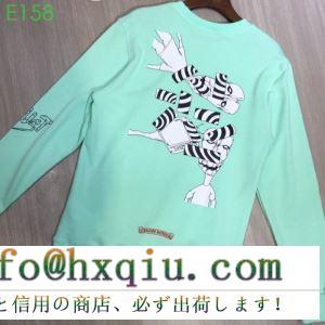 クロムハーツ chrome hearts 長袖tシャツ 19春夏最新モデル デイリーに使える1枚 圧倒的人気を誇る