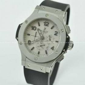 日本製クオーツ 6針 Hublotウブロ メンズ腕時計 日付表示 サファイヤクリスタル風防 42MM ラバー