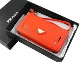美品! PRADA プラダ iPhone5C 専用携帯ケース カバー