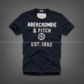 2014最新作 アバクロンビー&フィッチ 半袖Tシャツ 6017款
