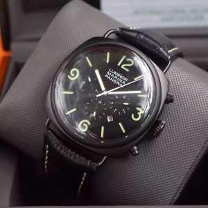 大人のおしゃれに 2016 PANERAI パネライ 6針クロノグラフ 日付表示 腕時計