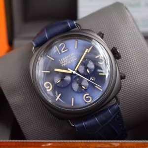 超レア 2016 PANERAI パネライ 6針クロノグラフ 日付表示 腕時計