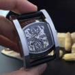 ★安心★追跡付  2016 BVLGARI ブルガリ 機械式(自動巻き)ムーブメント 透かし彫りムーブメント コーティングガラス 男性用腕時計