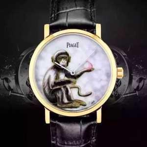 大人気☆NEW!!  2016 PIAGET ピアジェ 透明でムーブメントを見られる 男女兼用腕時計 6色可選