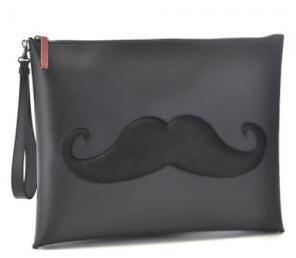 最高のプレゼント クリスチャンルブタン/CHRISTIAN LOUBOUTIN Peter Pouch クラッチバッグ ブラック 実用性あるバッグ2016.