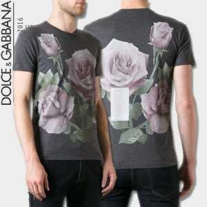 2016 抜群の雰囲気が作れる! Dolce&Gabbana ドルチェ&ガッバーナ 半袖Tシャツ 3色可選