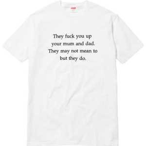 2色可選 クールビズ  2017春夏  超目玉 supreme fuck you up tee 半袖Tシャツ