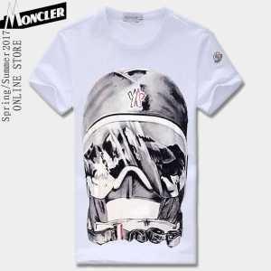高品質 人気 半袖Tシャツ 肌に密着2017年春夏新作 MONCLER モンクレール 4色可選
