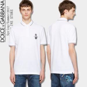 半袖Tシャツ Dolce&Gabbana ドルチェ&ガッバーナ 2017春夏 2色可選 注目のアイテム