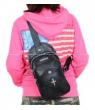 品質保証低価CHROME HEARTS クロムハーツ バッグ レザー 本革 ボディバッグ 縦型 斜め掛け ショルダー 通勤 通学 男女兼用