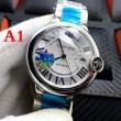 3色可選 男性用腕時計 カルティエ CARTIER 2017お得格安 数量限定豊富な