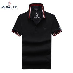 春夏人気セール低価MONCLERモンクレール 偽物8345600 84556ポロシャツ999ボタンダウンポロシャツ半袖3色可選