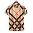 春夏超激得大人気BURBERRYバーバリー tシャツ メンズチェックスリムカジュアルクルーネックトップス半袖2色可選
