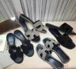 数量限定新品HERMESエルメス 靴 レディースサンダル履きやすいローヒールハイヒールカジュアルシューズ4色可選