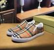 2018最安値高品質BUYMAバーバリー コピースリッポンスニーカーメンズチェック柄カジュアル靴紳士靴