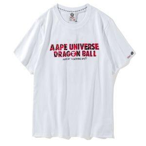 収縮性のある 半袖Tシャツ2018年春夏絶対手に入れたい! 2色可選 ア ベイシング エイプ A BATHING APE