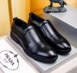 2018超激得大人気歩きやすいPRADAプラダ コピーレザー本革ビジネスシューズメンズ走れる防水紳士靴