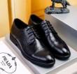 品質保証低価PRADAプラダ 靴 メンズビジネスシューズカジュアルシークレットシューズ欧米風お洒落軽量革靴