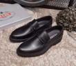 2018新作入荷定番PRADAプラダ 靴 コピーレザー本革レザービジネスシューズメンズ防水父の日紳士靴