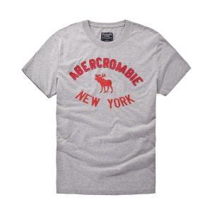 斬新なデザイン 2018夏のトレンド アバクロンビー&フィッチ Abercrombie & Fitch 半袖Tシャツ 2色可選
