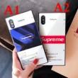 ケース カバー シュプリーム SUPREME 2018年NEWモデル iphone7 圧倒的な存在感 2色可選
