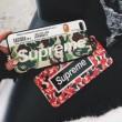 2018SS新作登場 iphoneX シュプリーム SUPREME ケース カバー 2色可選 シンプル派