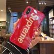 iphoneX ケース カバー 2色可選 シュプリーム SUPREME 2018夏のトレンド 立ち上げより入荷!