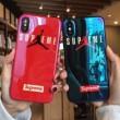 激安一番安い シュプリーム SUPREME 2018年春夏最旬トレンド iphoneX ケース カバー 2色可選