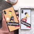 2018新作入荷格安SUPREMEiphonexケース シュプリーム耐衝撃軽量アイフォンXケーススマホカバー2色可選
