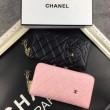 最安値品質保証CHANELシャネル コピー財布レディース長財布ラウンドファスナー大容量小銭入れプレゼント2色可選