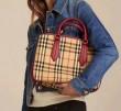 人気セール低価BURBERRYバーバリー コピーハンドバッグレディース使いやすいレディースチェック女性用4色可選