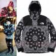 2018夏のトレンド ジャケット パーカ セーター コート14FW TNF Bandana 3色可選 シュプリーム SUPREME 人気商品セール