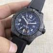 BREITLINGブライトリング コピープロフェッショナル3針クロノグラフメンズ腕時計ブラック黒赤字超特価格安