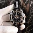 シュプリーム コピー 激安Supreme大幅値下げ人気ユニセックス腕時計ブラックカラー最上の品質ファッションウォッチ