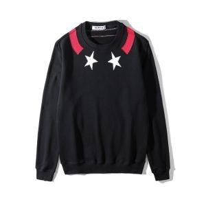 驚きの破格値品質保証GIVENCHYジバンシー トレーナー コピー34030913ブラッククルーネックスウェットシャツ2色可選