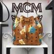 エムシーエムmcm ハンドバッグ コピー素敵なデザイン万能な2wayバッグ人気色のブラウンショルダーバッグハンドバッグ