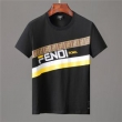 FENDIとFILAコラボ高品質フェンディ スーパー コピーシンプルなシルエットメンズクルーネックTシャツ