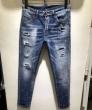 洗練された印象 目を引く1着 ディースクエアード DSQUARED2 19春夏最新モデル テーパードデニムパンツ