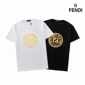 半袖Tシャツ 2色可選 2019年新作通販 FENDI フェンディ伸びるストレッチ素材 質感が絶妙