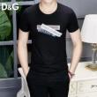 2019年春の新作コレクション ラグジュアリーな雰囲気 Dolce&Gabbana ドルチェ&ガッバーナ 半袖Tシャツ 2色可選