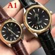 オメガ 時計 偽物OMEGA上質のカーフレザーカップルウォッチシンプルでレトロな外観ペアウォッチ