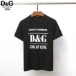 2019年新作通販 ドルチェ&ガッバーナ DOLCE & GABBANA 2色可選 スタンダードなシルエット 半袖Tシャツ すっきりした
