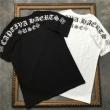 2色可選 男女兼用 2019年新作通販 デイリーに使える1枚 クロムハーツ CHROME HEARTS 半袖Tシャツ