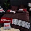 暖かくてナチュラルな雰囲気 2019秋冬憧れスタイル シュプリーム SUPREME 寝具4点セット