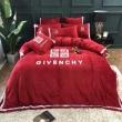 冬の落ち着いたファッションに取り ジバンシー GIVENCHY 寝具4点セット 2019秋冬の新作