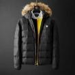 ヴェルサーチVERSACE 旬のおしゃれ見えに メンズ ダウンジャケット 着こなしに素敵なエッセンス3色可選 重くならない冬のブラックコーデ
