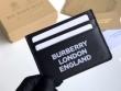 バーバリー カードケース 新作 抜群な機能性で大人気 Burberry メンズ コピー ブラック ロゴいり ストリート 2020限定 品質保証