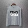 上品な冬スタイルを楽しもう 4色可選 2019秋冬の新作 フェンディ FENDI 長袖Tシャツ