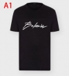 BALMAIN バルマン tシャツ コピー 大人コーデを華やぐモデル 通販 メンズ デイリー カジュアル ロゴ入り 多色 VIP価格